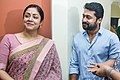 Suriya & Jyothika at the Kaatrin Mozhi movie launch.jpg