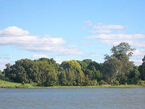 Susan Island, Clarence River, Australia