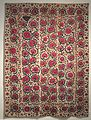Suzani (bed cover) from Uzbekistan, Honolulu Museum of Art 933.JPG
