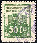 Switzerland Aargau 1913 Revenue 50c - 12B.jpg