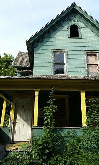 Land banking - Syracuse Land Bank property, Syracuse, New York