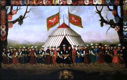 Szlachta in costumes of the Voivodeships of the Polish-Lithuanian Commonwealth.PNG