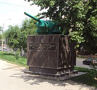 T-34 gun turrets on Lenin Avenue 53 (5).jpg