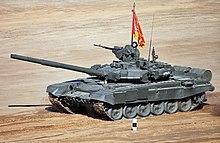 e72f590161de T-90A Main Battle Tank competing in the 2013 Tank Biathlon.