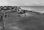 TBF-1C of VT-17 takes off from USS Bunker Hill (CV-17) c1943.jpg