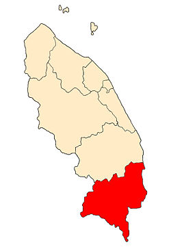 Location of Kemaman