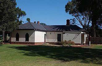 Charles Sturt - The Grange, Sturt's cottage, located in the Adelaide suburb of Grange.