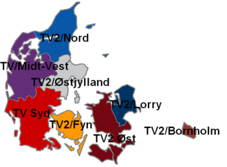 TV 2/Fyn - The TV 2 regions.