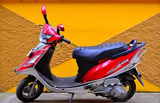TVS Motor Company - TVS Scooty Streak - one of the discontinued scooter of Scooty series
