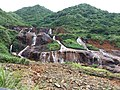 TW 台灣 Taiwan 新北市 New Taipei 瑞芳區 Ruifang District 洞頂路 Road 黃金瀑布 Golden Waterfall August 2019 SSG 19.jpg