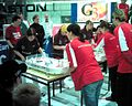 Table hockey ECh Skalica Ladies team final.jpg