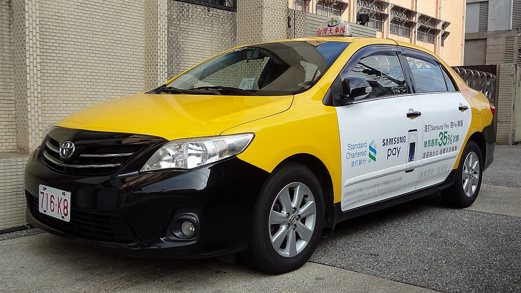 taiwan taxi s icall system