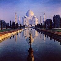 Shah Jahan built Taj Mahal over the tomb of his wife Mumtaz Mahal
