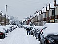 Talfourd Avenue in the snow - geograph.org.uk - 1747172.jpg