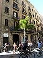 Tallers 45 i grup de turistes en bicicleta P1200599.jpg