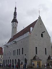 Tallinn medieval Town Hall (Raekoda)