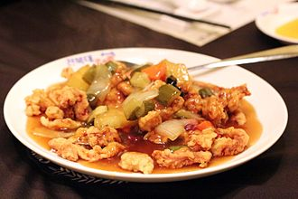 Korean Chinese cuisine - Image: Tangsuyuk (Korean Chinese sweet and sour pork)