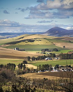Auchleven village in United Kingdom
