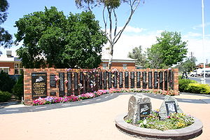 Tarcutta - National Truck Driver Memorial at Tarcutta