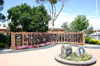 Tarcutta - National Truck Driver Memorial at Tarcutta