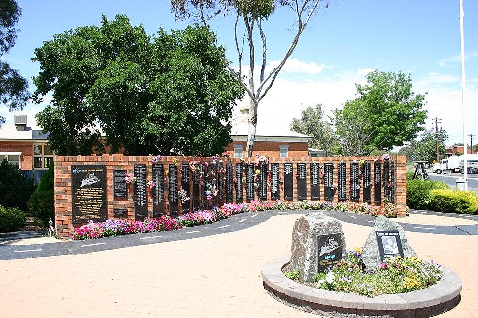 Tarcutta truckie memorial