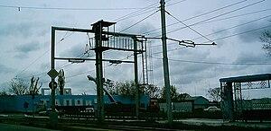 Tashkent Mechanical Plant - The entrance of Tashkent Aviation Production Association.