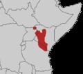 Tauraco hartlaubi map.png