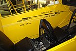 Taylor Cub interior - Oregon Air and Space Museum - Eugene, Oregon - DSC09863.jpg