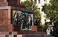 Tbilisi, Georgia — Shota Rustaveli Monument pedestal bas-relief.jpg
