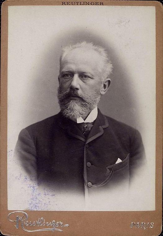 Tchaikovsky by Reutlinger