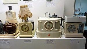 Teasmade - Teasmade machines on display at the Science Museum, London