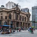 Teatro Municipal Side in São Paulo City 2.jpg