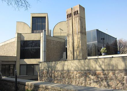 The Tehran Museum of Contemporary Art in Iran