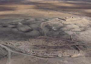 Negev Bedouin - Tel Arad inhabited since 4000 BCE