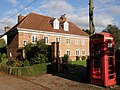 Telephone box, in Sowton village - geograph.org.uk - 1542023.jpg