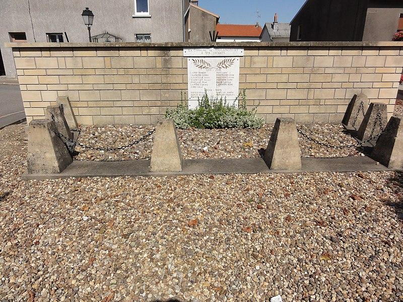 Tellancourt (Meurthe-et-M.) monument aux morts