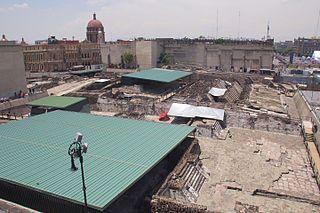 <i>Templo Mayor</i> Main Temple of Tenochtitlan
