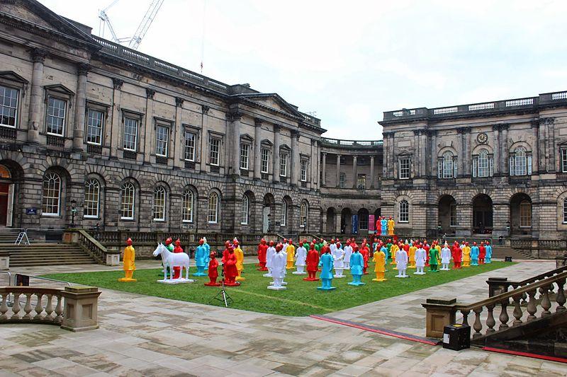 File:Terracotta Warrior Lanterns, Old College, Edinburgh 2.JPG