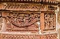 Terracotta art on the walls of Ananta Vasudeva temple at Bansberia.jpg