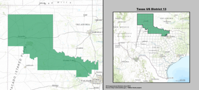 Texas's 13th congressional district - since January 3, 2013.