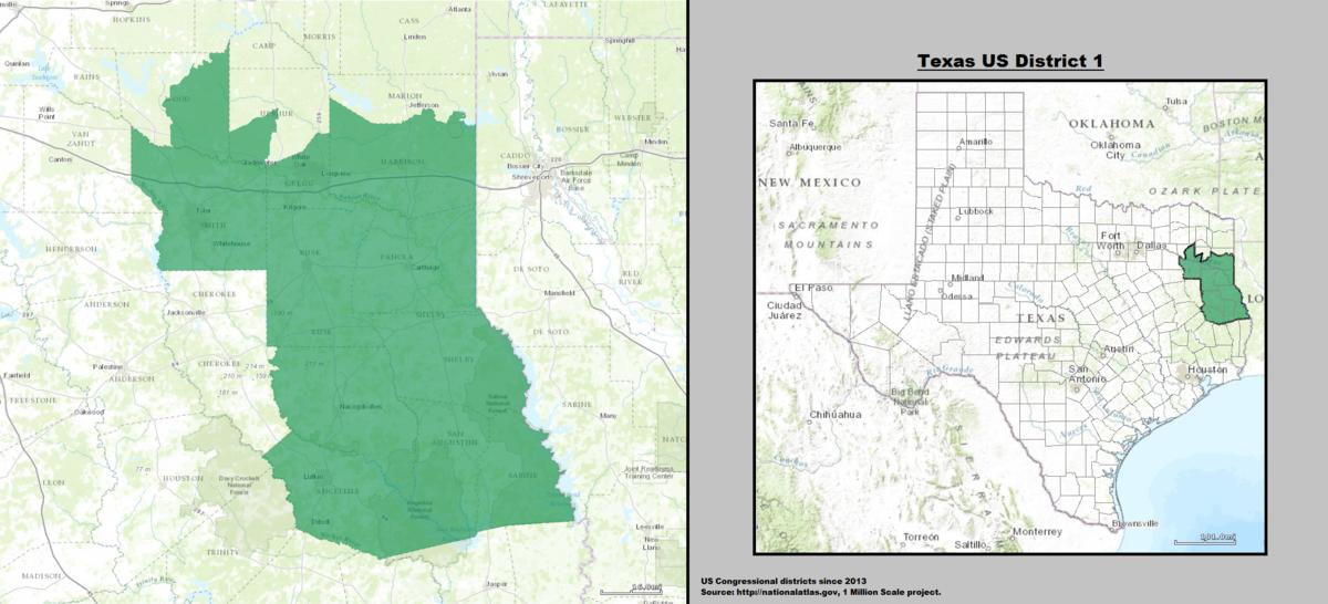 Texass St Congressional District Wikipedia - Us congressional district map
