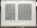Thèbes. Karnak. 1. Harnachement d'un cheval; 2. Combat sculpté sur les murs extérieurs du palais (NYPL b14212718-1268062).tiff
