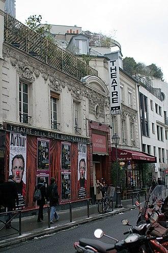 Théâtre de la Gaîté-Montparnasse - Théâtre de la Gaîté-Montparnasse.