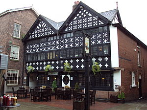 Listed buildings in Warrington (unparished area) - Image: The Barley Mow pub, Warrington DSC05951