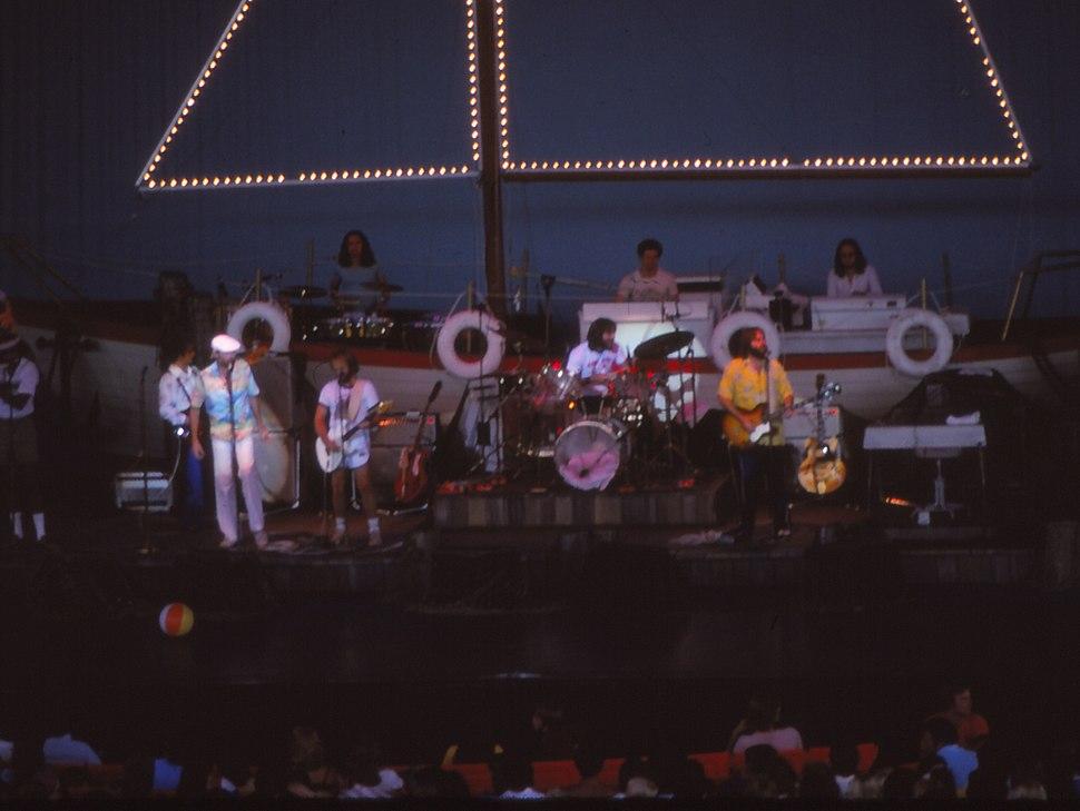 The Beach Boys Konzert Michigan 1978 (cropped)