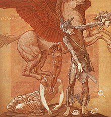 The Birth of Pegasus and Chrysaor 1876-1885 Edward Burne-Jones.jpg