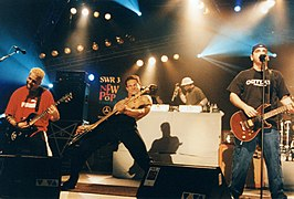 Bloodhound Gang live in 1999.