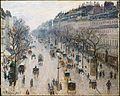 The Boulevard Montmartre on a Winter Morning MET DT1906.jpg