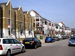 Harlow - The Newhall housing development built circa 2007 between Old Harlow and Church Langley