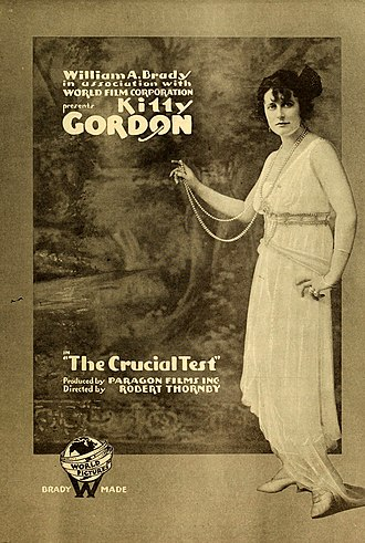Kitty Gordon - Image: The Crucial Test